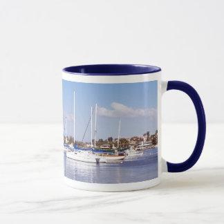 Harbor Sailboats Mug