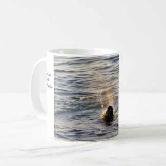 Harbor Seal Spouting Water Mug
