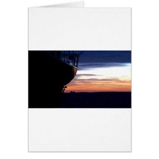 Harbor Sunrise Card