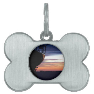 Harbor Sunrise Pet ID Tag