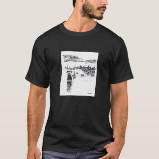 Harbor view from Balboa Island, Newport Beach T-Shirt