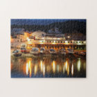 Harbour in the Azores Jigsaw Puzzle