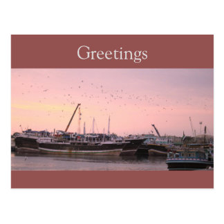 Harbour Postcard