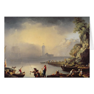 Harbour Scene Card