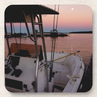 Harbour Sunset, St Joseph Island Drink Coaster