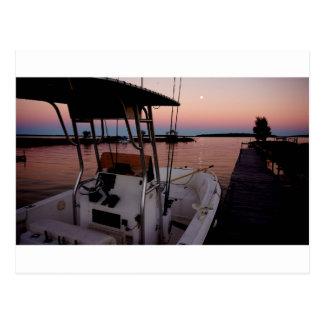Harbour Sunset, St Joseph Island Postcard