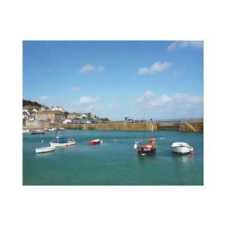 Harbour View Cornwall Canvas Print
