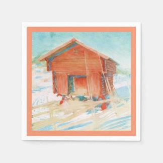 Harbre i Vintersol Paper Napkin