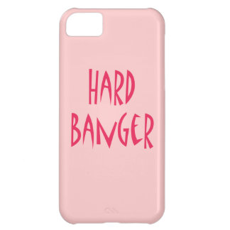Hard Banger plain pink iPhone 5C Case