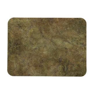 Hard Brown Stone copy Rectangular Photo Magnet