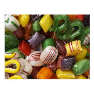 Hard candy, full frame postcard