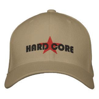 HARD CORE - - Customized Embroidered Hat