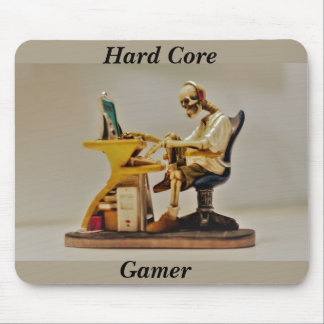 hard core gamer mouse pad