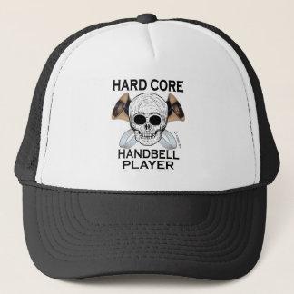 Hard Core Handbell Player Trucker Hat