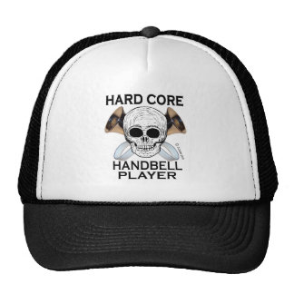 Hard Core Handbell Player Trucker Hat