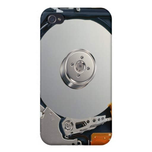 Hard Disk Drive iPhone 4 Cover