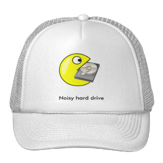 Hard drive trucker hat