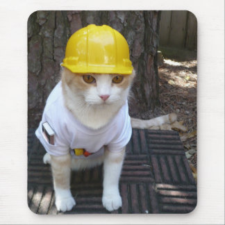 Hard Hat Bubba Mouse Pad