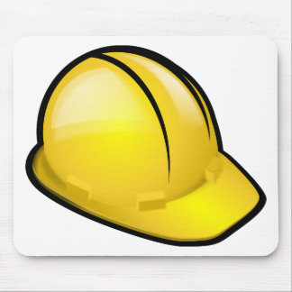 Hard Hat Mouse Pad