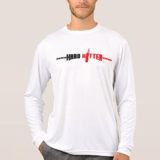 Hard Hitter Logo Micro-Fiber Long Sleeve T-Shirt