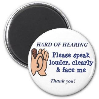 Hard of Hearing Magnet