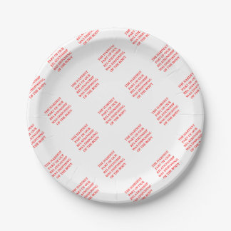 HARD PAPER PLATE