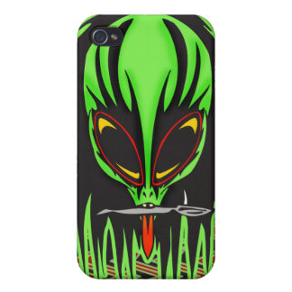 Hard Rock Alien Band Member iPhone 4 Cover