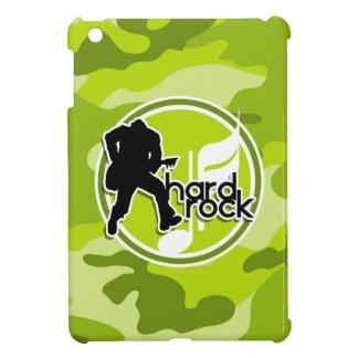 Hard Rock bright green camo camouflage iPad Mini Covers