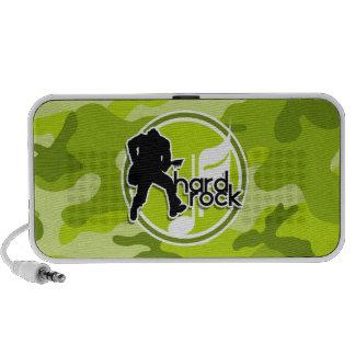 Hard Rock bright green camo camouflage Speaker