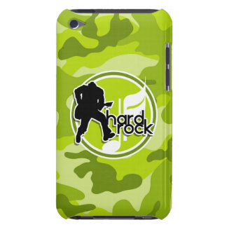 Hard rock camo vert clair camouflage coques barely there iPod