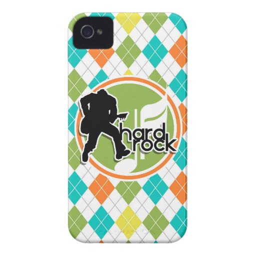 Hard Rock; Colorful Argyle Pattern Case-Mate iPhone 4 Case
