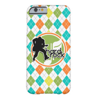 Hard Rock; Colorful Argyle Pattern Barely There iPhone 6 Case