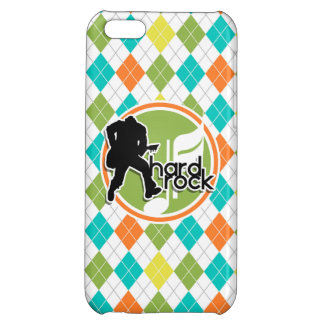 Hard Rock; Colorful Argyle Pattern iPhone 5C Cover