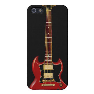 Hard Rock Electric Guitars (red) Cases For iPhone 5