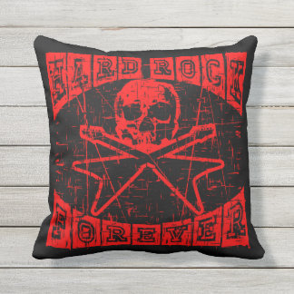 hard rock forever throw pillow