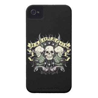 Hard Rock Skulls Guitars Music iPhone 4 4s Case Case-Mate iPhone 4 Case