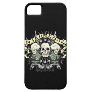 Hard Rock Skulls Guitars Music iPhone 5  Case iPhone 5 Covers