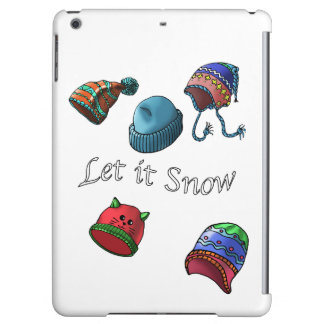 Hard shell iPad Mini Case, let it snow iPad Air Case