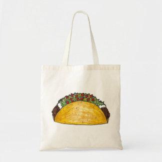 Hard Shell Tacos Taco Mexican Food Tote Bag