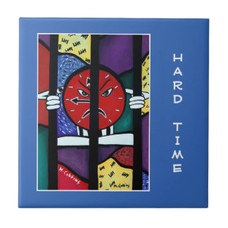 Hard Time  - Blue  - Time Pieces Tile