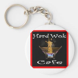Hard Wok Cafe Thailand Basic Round Button Keychain