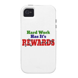 Hard Work Appreciation Vibe iPhone 4 Covers
