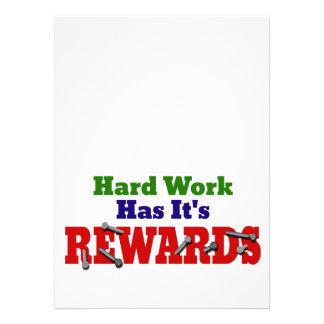 Hard Work Appreciation Custom Invites