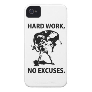 """Hard Work"" Blackberry Case"