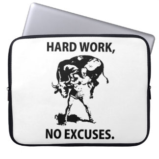 """Hard Work"" Laptop Sleeve"
