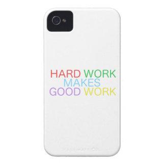 Hard Work Makes Good Work Case-Mate iPhone 4 Case