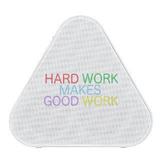 Hard Work Makes Good Work Speaker