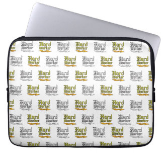 Hard worker : Gets the job done Laptop Sleeves