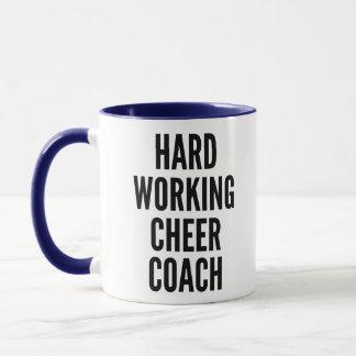 Hard Working Cheer Coach Mug