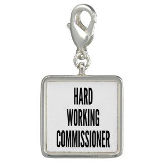 Hard Working Commissioner Photo Charms